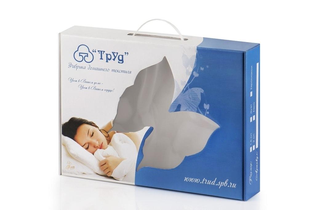 Упаковка для постельного белья(конструкция чемодан)